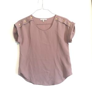 💖 Speed Limit Blouse in Mauve Size Small